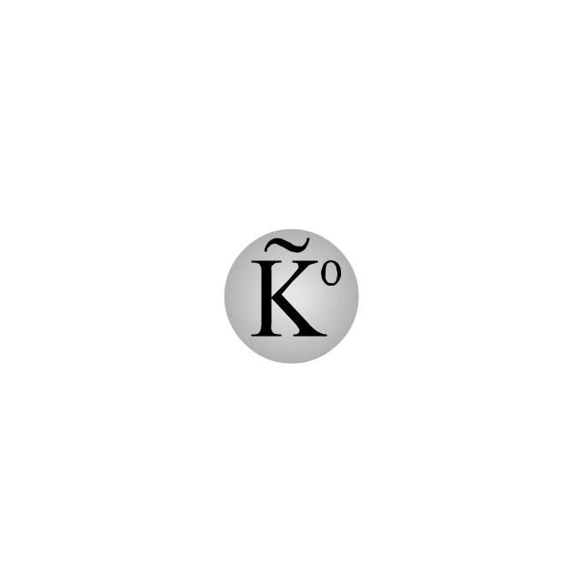 Anti-K-null meson (antikaon), Anti-K-null meson, antikaon,