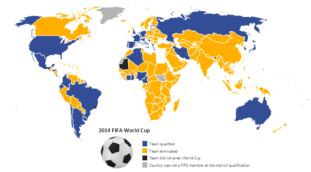 Spatial infographics, soccer ball,