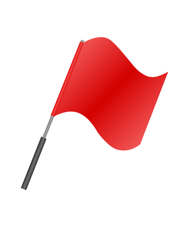 Soccer referee flag, soccer referee flag,