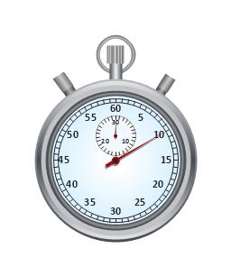 Stopwatch, stopwatch,