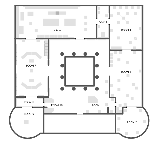 Exhibition Floor Plan How To Draw Building Plans How To Use Appliances Symbols For Building Plan Expo Table Layout