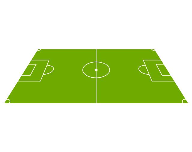 Sideline view soccer (football) field, sideline view football field, sideline view soccer field,