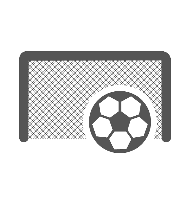 Goal, goal, football ball,