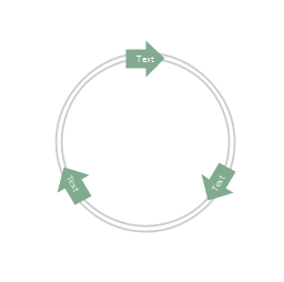 Arrow circle diagram - 3, arrow circle diagram,