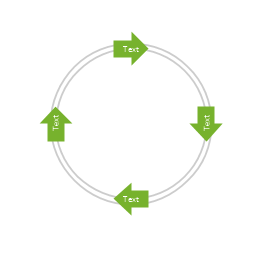 Arrow circle diagram - 4, arrow circle diagram,