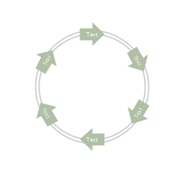 Arrow circle diagram - 6, arrow circle diagram,