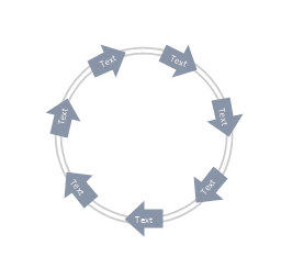 Arrow circle diagram - 7, arrow circle diagram,