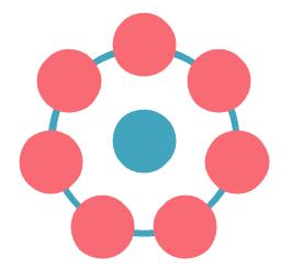 Circle diagram, circle diagram, circular diagram,