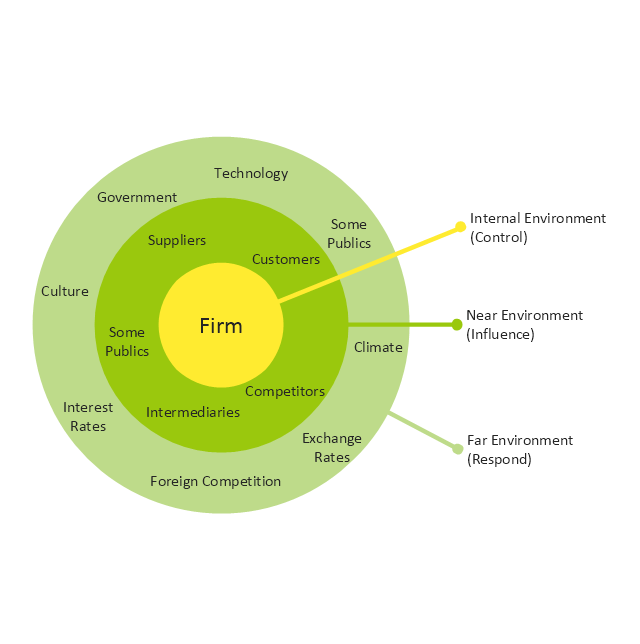 Macro-micro environmental forces diagram (prompt), target, macro-micro environmental forces,