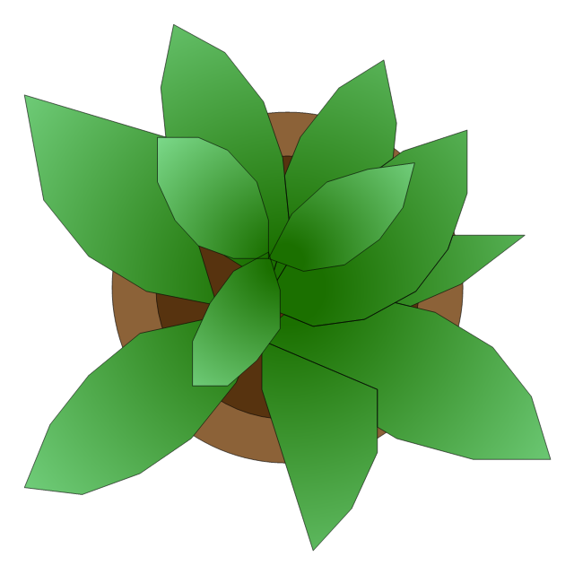 Potted plant 1, potted plant,