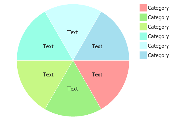 Pie chart (light), control dots, pie chart,