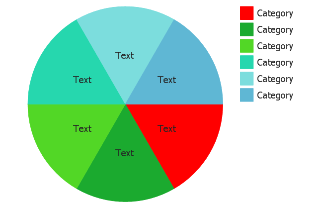 how to draw the different types of pie charts circular arrows rh conceptdraw com pie chart diagram definition worksheet pie chart diagram