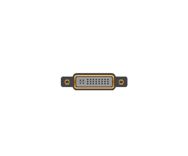 DVI-I (Dual Link) jack, DVI-I, dual link, jack, connector,