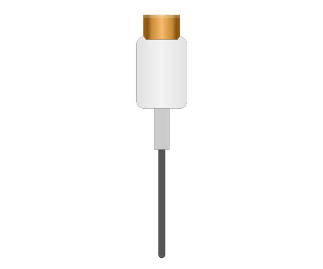 Mini DVI plug, Mini DVI plug,