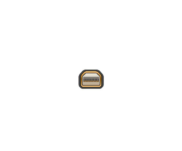 Mini Display port socket, mini display port, socket,