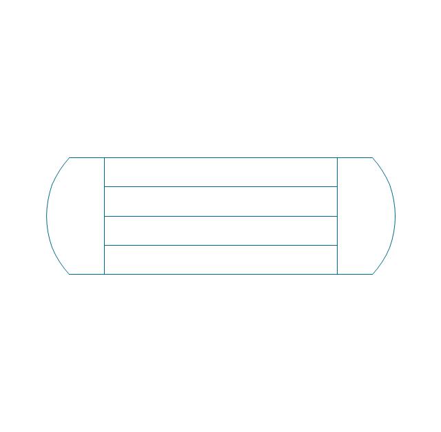 Process Flow Diagram Symbols Design Elements Heating Equipment
