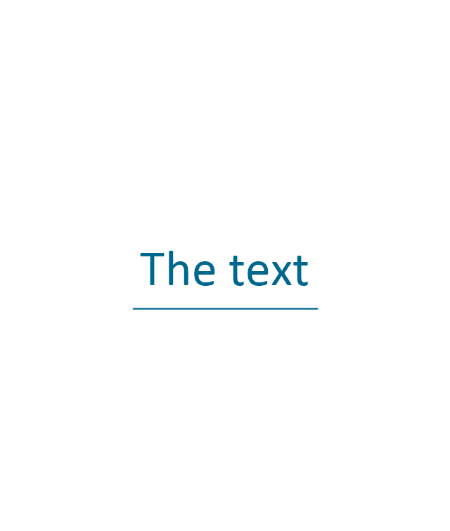 10 pt text and line,