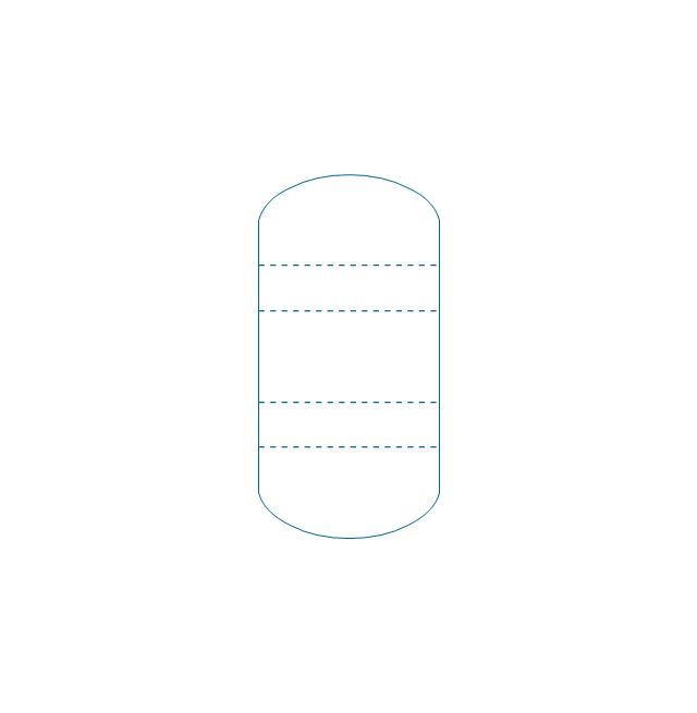 Tray column, tray column,
