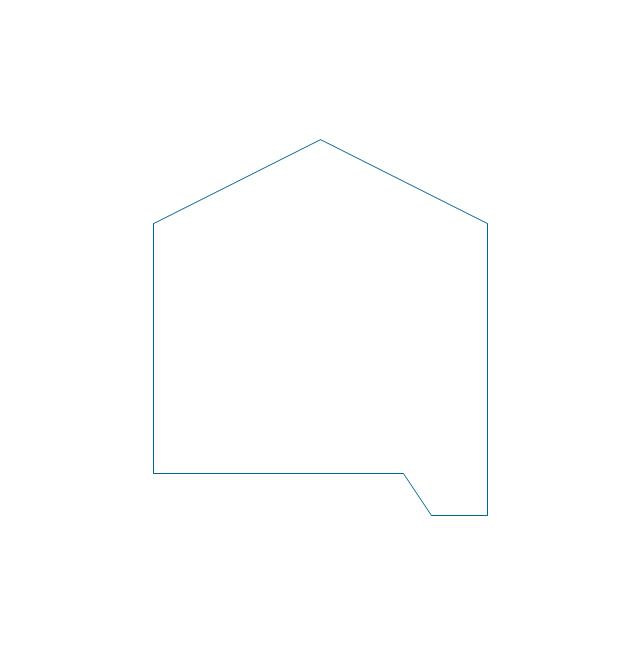 Closed tank (sump, peaked roof),