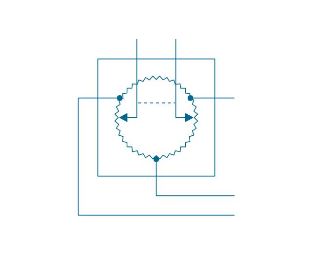 Position transmitter Desynn, position transmitter, Desynn type, DC synchro type,