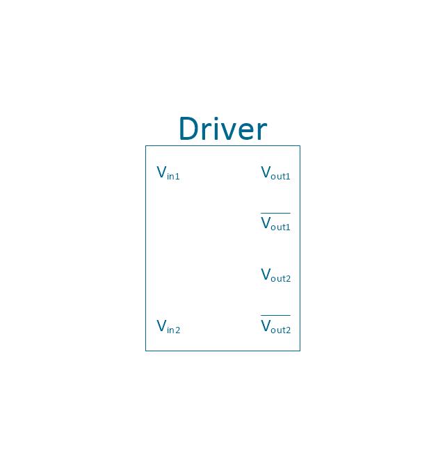 Driver, driver, voltage driver,