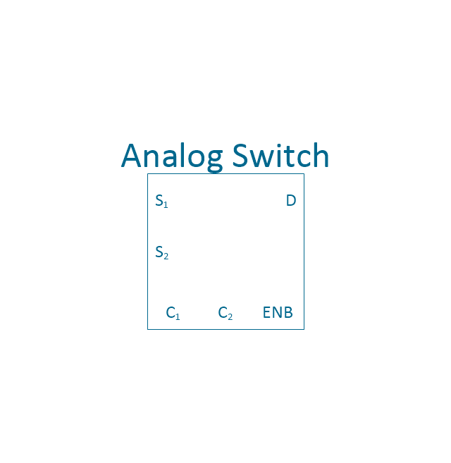 Analog switch 2, 2-channel, analog switch,