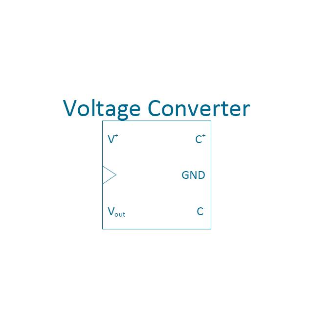 Voltage converter, voltage converter,
