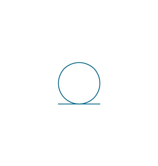 Coaxial symbol, coaxial line, coaxial,