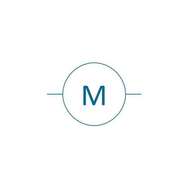 schematic drawing symbols motors