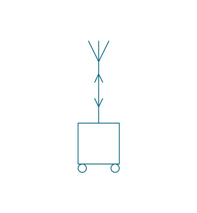 Mobile alternating station, mobile station, mobile radio station,