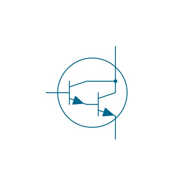 Darlington transistor, NPN, env, Darlington transistor, NPN,