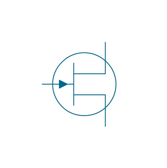 JFET, N, env, junction, FET, field-effect transistor, N-type channel,