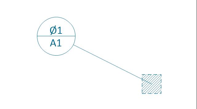 Target area (rectangle), datum target, area,