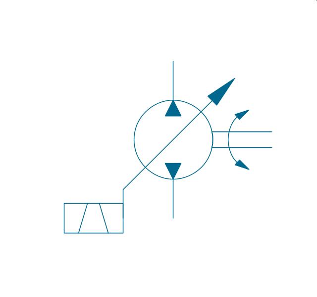 hydraulic schematic hydraulic circuits mechanical drawing pump var solenoid 2 hydraulic pump