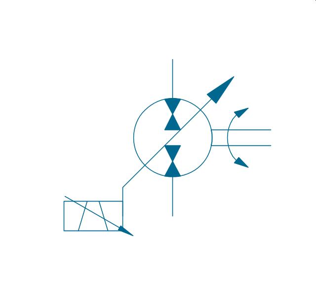 hydraulic schematic hydraulic circuits mechanical drawing pump motor var var solenoid 2 hydraulic pump motor