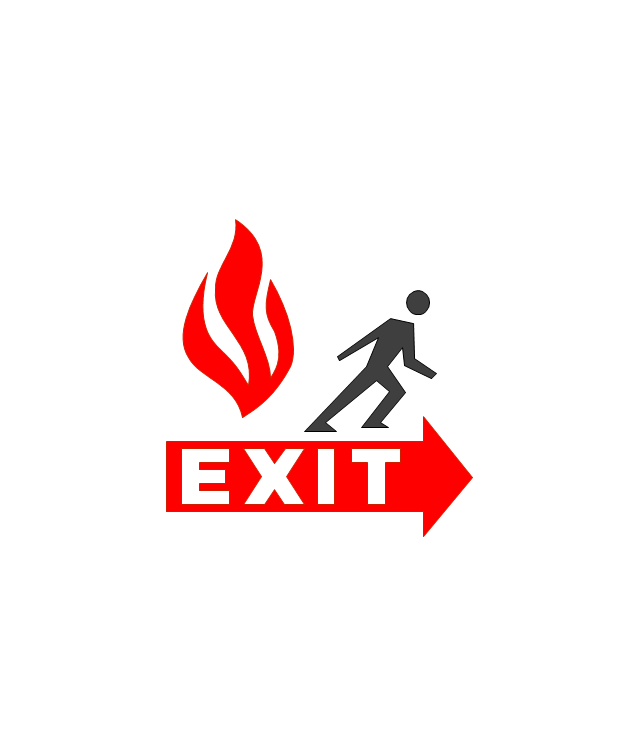 Fire And Emergency Planning Vector Stencils Library