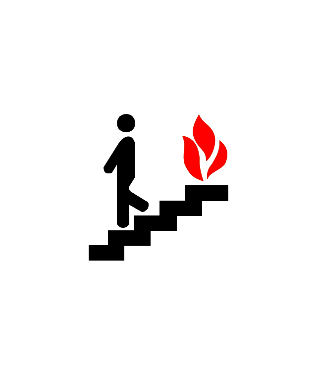 Use Stairs in Fire, use stairs in fire,