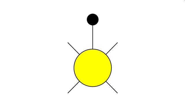 Lighting - Vector stencils library