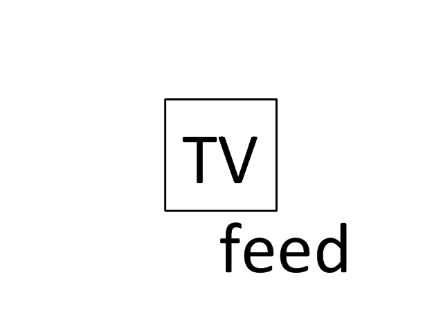 TV Feed, TV feed,