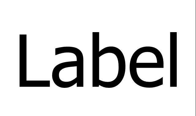 Label, text label,