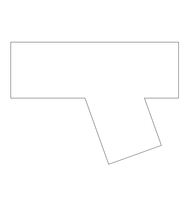 how to draw a duct transi