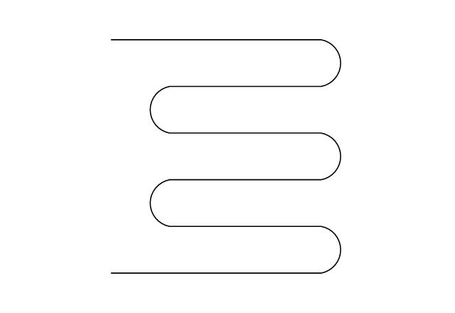 Pipe coil, pipe coil,