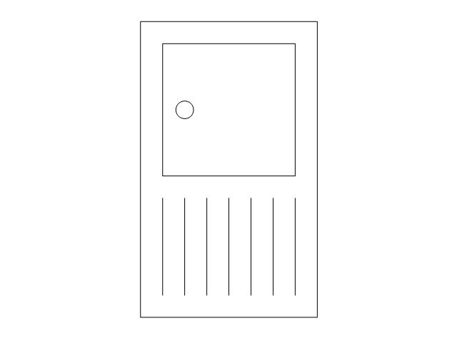 Radiant panel (plan), dbl, radiant panel,