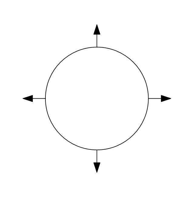 Circular outlet, circular outlet, diffuser,