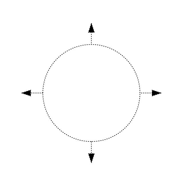 Circular outlet, hidden, circular outlet, diffuser,