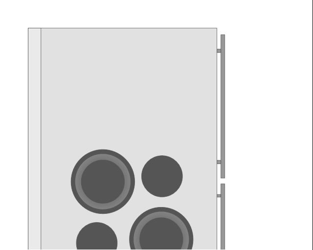 Refrigerator 2, 2-door, refrigerator, freezer,