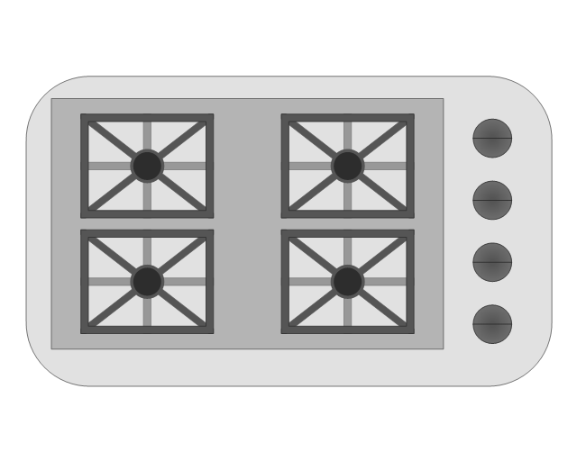 Gas Range with Grill, gas range, grill,