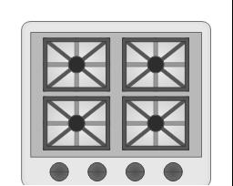 Gas Range (Stretchable), gas range, stretchable,