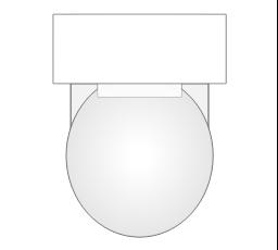 Bathroom Vector Stencils Library Design Elements Bathroom Reflected Ceiling Plan The