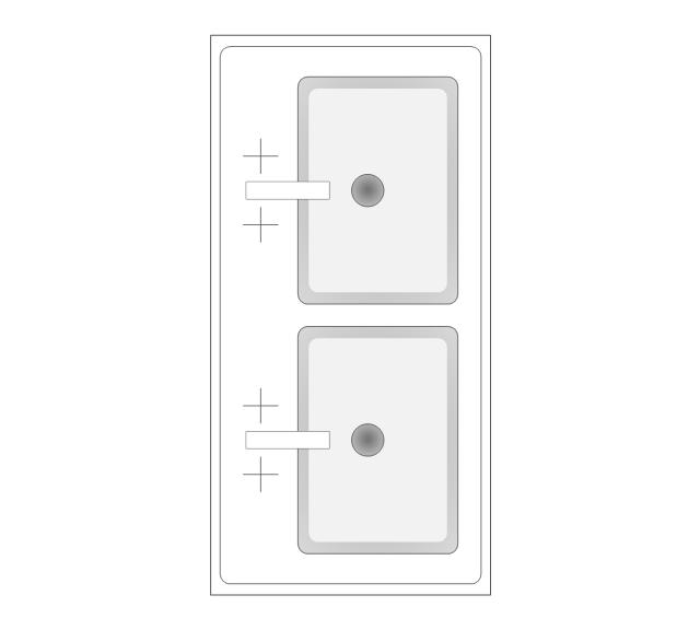 Design Elements Bathroom Bathroom Vector Stencils Library